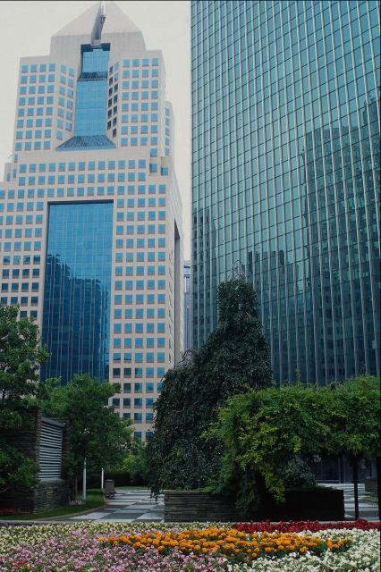 Our Office Building on Left